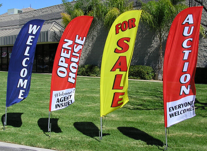 Custom Flags Are A Great Way To Thank Sponsors Promotional