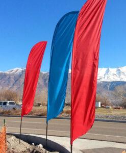Feather Flag Pole - With Ground Sleeve