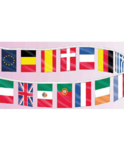 Individual Countries Bannerette 4mil multi countries