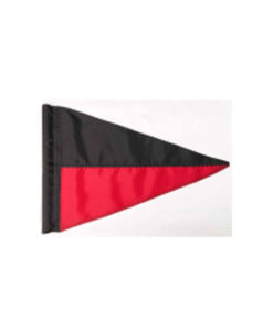 Pennant Flag Stripe Two Color