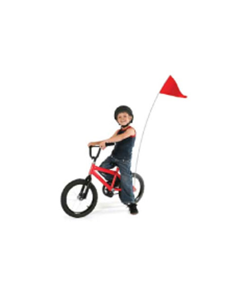 Bicycle Safety Flags-Stock Colors - HI-TEX Flags & Advertising Specialties