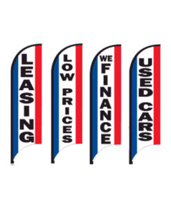 Flagpole Stock Message Flags
