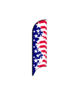 Americana Bow Flags Starburst-Uncle Sam