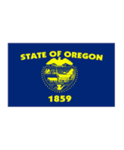 State Flag Oregon