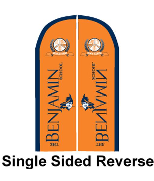 Budget Custom Printed Bow Flags