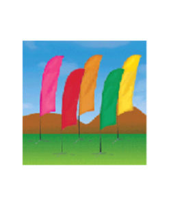 Bow/Blade Flag Solid Color