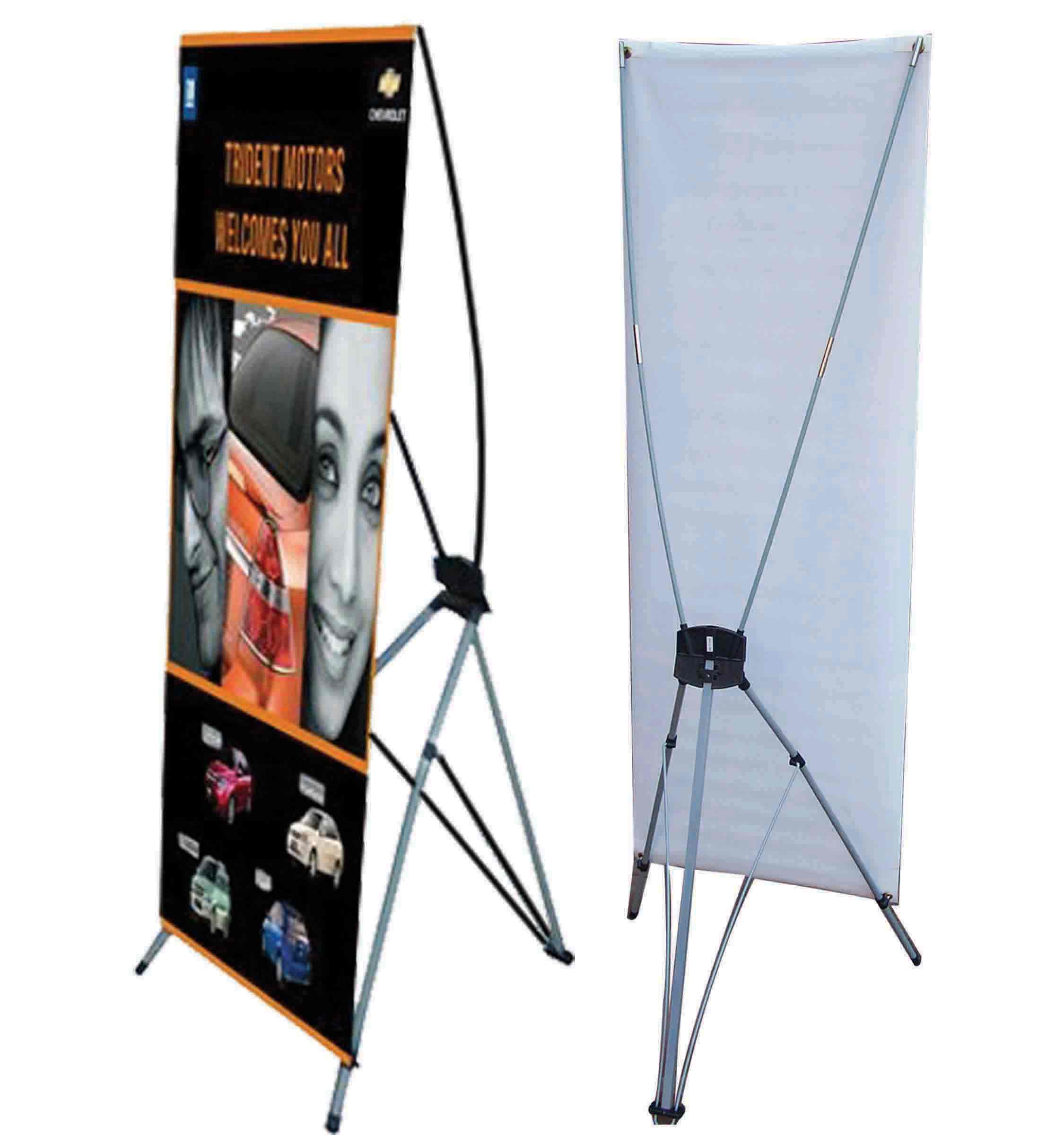L Banner And X Banner Hi Tex Flags Amp Advertising Specialties