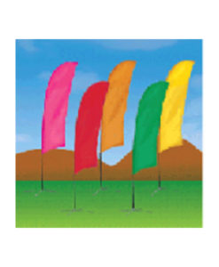 bow flag solid color